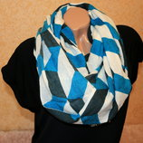 Теплый шарф-шаль 70х180 Takko Fashion Германия