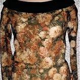 Эксклюзивная блуза от бренда Emiio Kavallini.Оригинал
