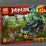 Конструктор Lele Ninja Самурай VXL 448дет 31026 аналог Ninjago 70625