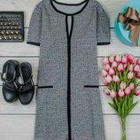 Платье серое 12 размер