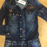 Стильный джинсовый комбез AMN размер 26