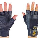 Перчатки атлетические с фиксатором запястья Matsa 0039 размер S-XL