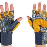 Перчатки атлетические с фиксатором запястья Velo 3226 размер S-XL