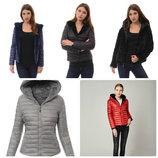 Зимняя женская двусторонняя куртка шубка