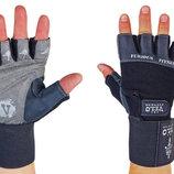 Перчатки атлетические с фиксатором запястья Velo 8114 размер S-XL