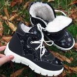 Зимние женские кроссовки.