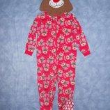 Пижамки трикотажные и флисовые малышам 1-4лет