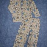 Пижамки трикотажные и флисовые деткам 3-6лет