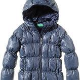 Куртка пуховик Benetton, р.90, Италия