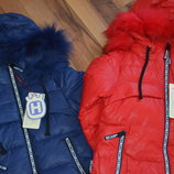 отличное зимние пальто для девочки коллекция 2017г