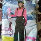 Полукомбинезоны, термо штаны, лыжные штаны. 122/128см