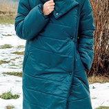 Пальто-Одеяло пуховик-одеяло зимняя куртка оверсайз