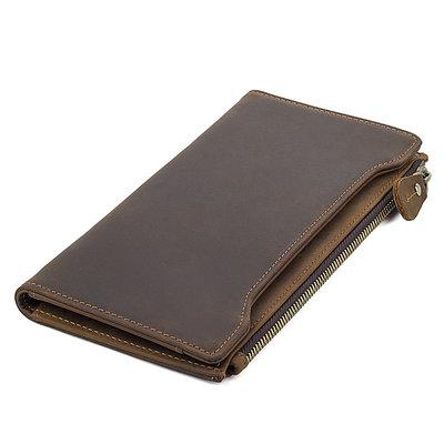 ba4ac88ad68c Мужской кожаный кошелек Бесплатная доставка R-8168R портмоне, клатч  натуральная кожа