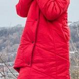 Зимняя куртка-одеяло пуховик-одеяло пальто оверсайз