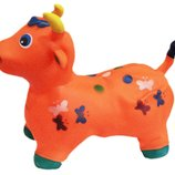 Резиновый Прыгун 5цветов корова BT-RJ-0024 1300г