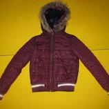 Куртка Soho New York Сша на рост 146-152 см. Осень-Евро зима. В идеальном состоянии.Куртка на утепли