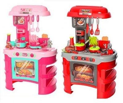 Кухня 008-908 008-908A Little Chief тостер, кофеварка, посуда