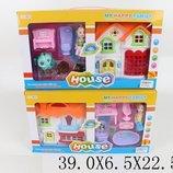Домик 8135-6 2вида,с куколкой,2-х этаж,с мебелью,в кор.39 6,5 22,5см