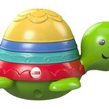 Fisher-Price Игрушка для ванной черепашка пирамидка Stack & Strain Bath Turtle DHW16