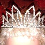 Корона для принцессы или к костюму снегурочки
