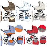 Romantic Детская коляска 3 в 1