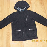 Демисезонное пальто Next для мальчика 2-3 года, 92-98 см