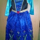 Карнавальное платье Анны из холодного сердца.