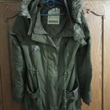Парка-Куртка-Парка. Бренд Crafted. Раз.10/38/m Цвет хаки.
