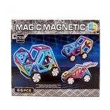 Магнитный 3D конструктор JH6887 транспорт аналог MAGFORMERS