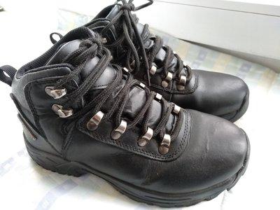 Классные кожаные утепленные термо ботинки 21,5 см.