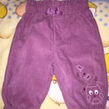 Симпатичные штанишки- бриджи Mothercare 3-6 мес