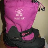Термочоботи зимові брендові Каmік GORE-TEX Оригінал р.30 стелька 19,5 см