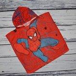 фирменное детское полотенце пончо фирменное детское Спайдермен Человек Паук spider man