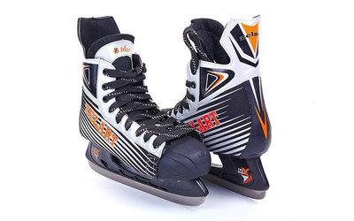 Коньки хоккейные 2062 размер 41-45 лезвие сталь