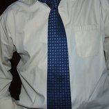 Стильная деловая брендовая рубашка Dressmann хл .