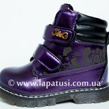 Ботинки деми, р.22,24 новые,осень-весна, на девочку, сапожки, туфли, ботиночки