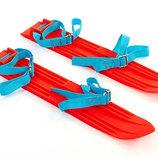 Лыжи детские Гном 4674 длина лыж 45 см без палок