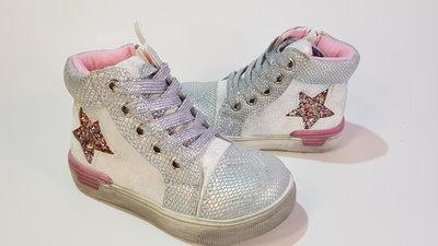 Утепленные деми ботинки для девочки 22 - 25 размеры G5