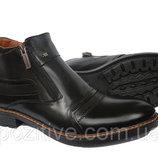 Мужские кожаные зимние ботинки модель V-5