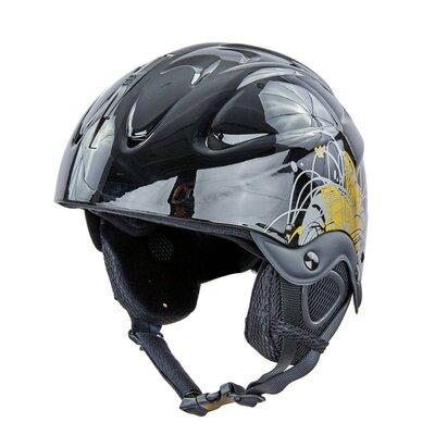 Шлем горнолыжный с механизмом регулировки 2947-S размер 53-55см