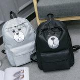 Большой тканевый рюкзак мишка В Наличии