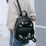 Нежный городской рюкзак с цветами Molli В Наличии