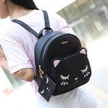 Рюкзак с мордой спящего котика Belladone В Наличии
