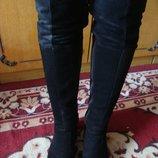 Зимние сапоги - ботфорты