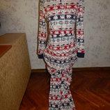 слип, пижама, человечек трикотажный с капюшоном р8-10