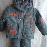 Куртка иштаны зимние DOMIDO на мальчика 2года