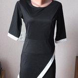Платье черное atmosphere 34 размер нарядное