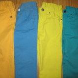 Фирменные яркие джинсы на 3-4 года
