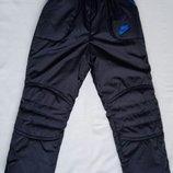 Зимние утепленные брюки на рост 116-158 см