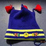 Весенняя шапочка для малыша